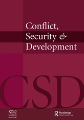 Conflict, Security & Development