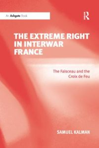 The Extreme Right in Interwar France