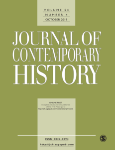 cover of Journal of Contemporary History